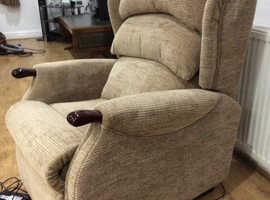 Sumptuous electric chair