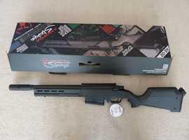 Ics/gsg 522 Mp5 Sd Electric Blow Back, Metal, 6 Mags + Gun Bag in