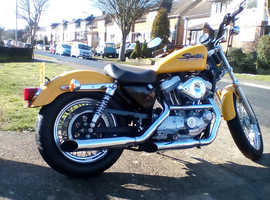 Harley Hugger 883cc only 6,860 miles from new