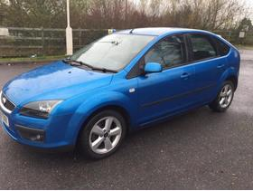 Ford Focus, 2006 (56), Manual Diesel, 80000 miles 300 - Newport - FORD FOCUS 2006/55 DIESEL 1.6TDCi MANUAL ZETEC CLIMATE BLUE Quick sale needed - based in South Wales - Newport