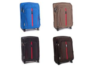 Medium Suitcase Travel Case Hand Hold Luggage CODURA 2 Wheels Wings 60/72l