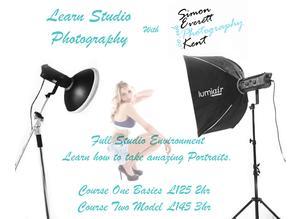 Learn Portrait Studio Photography