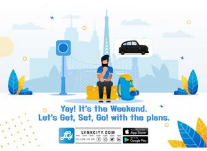 LynkCity Taxi Booking App: Safe, Quick & Easy Ride OnDemand