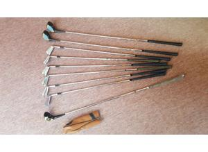 Vintage, Dunlop x 7, Ryder x 2, Golf Clubs, Various Woods & Irons, Used & New