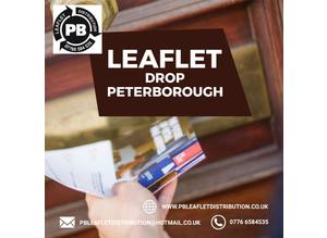 Leaflet drop Peterborough
