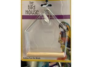 16cm Wooden Bird Swing