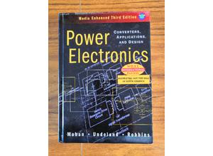 Power Electronics Hardback Book, 3rd Ed, 9780471429081 Excellent Condition, Rare