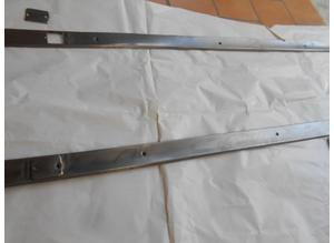 External chrome trims under doors for Fiat 2300 S Coup
