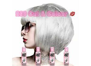 Crazy colour & Cut and style