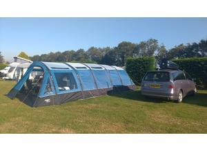 VANGO Rivendale 800XL Exclusive Edition AIRBEAM tent  with many extras. Full Camping setup.