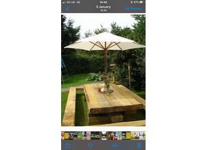 Bespoke oak timber tables