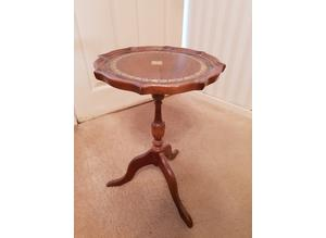 Wooden Circular Occasional table