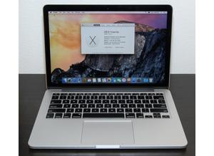 "Apple Macbook Pro 13"" Retina (2015) 3.1GHz i7, 16GB, 1TB SSD & AppleCare"