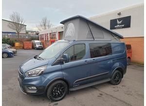 FORD CUSTOM TRAIL 130PS 6 SPEED 5-SEATER, 2 BERTH VAN/CAMPER by Wellhouse