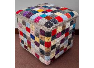 Footstool / Ottoman / Storage Box / Seat