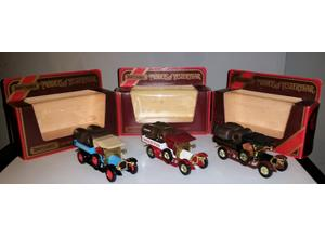 Matchbox vintage cars 3 x y13/26 crossley trucks 1973