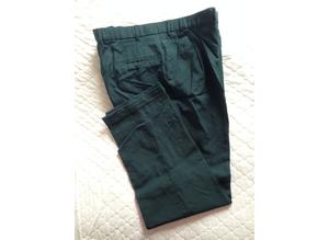 Men's pleated front trousers