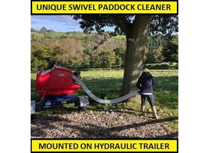 Paddock Cleaner. Paddock Vacuum. Paddock Sweeper - CALL US NOW!