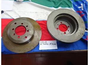 Rear brake discs De Tomaso Pantera