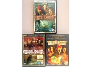 Pirates of the Caribbean 3 DVD set