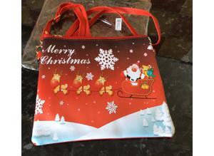 BRAND NEW. Christmas design, hand, across body or shoulder bag. Lovely gift