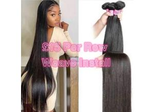 Weave install £15