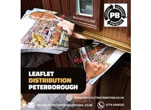 Leaflet Distribution Peterborough