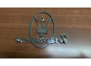Side Emblem Maserati iniezione for Maserati Mistral
