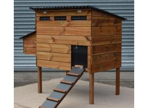 Wooden chicken coops - ranging from 2 hens to 10