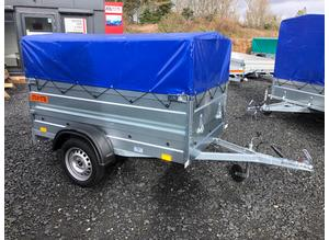 BRAND NEW TRAILER- CAMPING TRAILER with cover and frame (50cm) 6x4