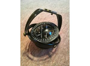 Vintage, 1978 Henry Browne and Sons, Sestrel Hanging Compass, No 2165 - Maritime