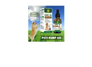 HEMP OIL FOR PETS - FORMULATED BY VETS