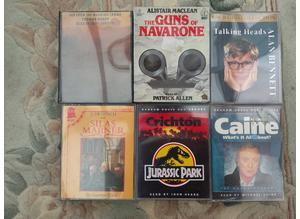6 Audio Books on Cassette