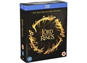 The Lord Of The Rings: Motion Picture Trilogy [Blu-ray] [2003] [2015] [Region Free]