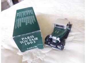 PARIS TOY FAIR 1993; ERTL 2501K1;  1:43 SCALE