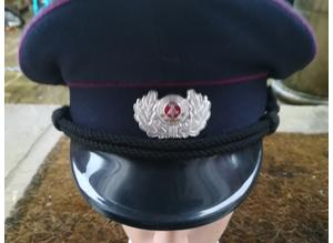 East German Pre 1990 Fire Brigade Hat