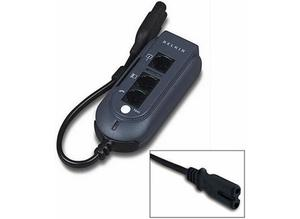Belkin Universal Laptop Travel Plug Surge Extension Lead, with C8 Style Connector