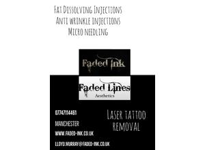 Tattoo removal plus aesthetic treatments