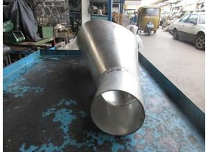Lower air intake driver side for Maserati Mistral