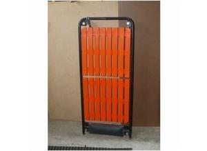 Orange, Vehicle / Car / Van Inspection Trolley on Wheels, Excellent Condition