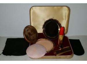 Vintage Stratton full compact and lipstick set