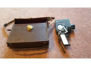 Vintage, 8mm Feature 8 Automatic Reflex 200m Film Camera, Original Leather Case