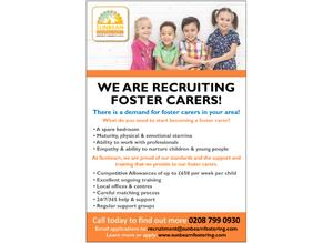 Become a foster carer in Surrey Heath and surrounding areas!