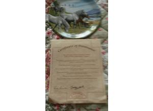 collectable pony plates