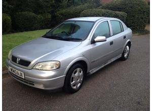 VAUXHALL ASTRA 1.6 LS MOT 10 MONTHS VERY NICE DRIVE CHEAP CAR THAT STARTS 1ST TIME VERY RELIABLE