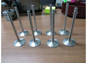 Intake valves for engine Maserati 8 cylinders