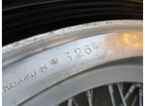Wheel rims Borrani for Ferrari 250 Boano, Ellena,TdF,California,750 Monza