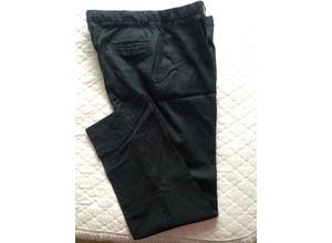 Men's flat front trousers - Size 38
