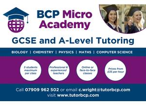 BCP Micro Academy - GCSE and A Level Science & Maths Tuition