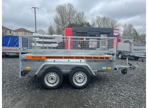 BRAND NEW 8.2 X 4.3 TWIN AXLE MASTER TRAILER WITH 40CM MESH 750KG